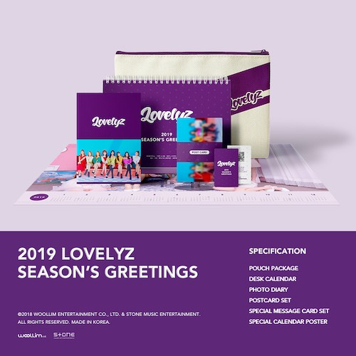 Lovelyz(LOVELYZ)-[2019季节的问候](2019 LOVELYZ季节的问候)